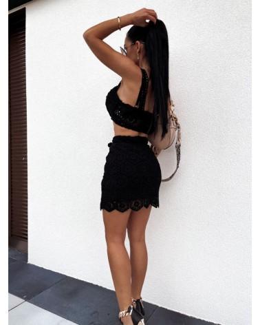 Spódnica na lato czarna