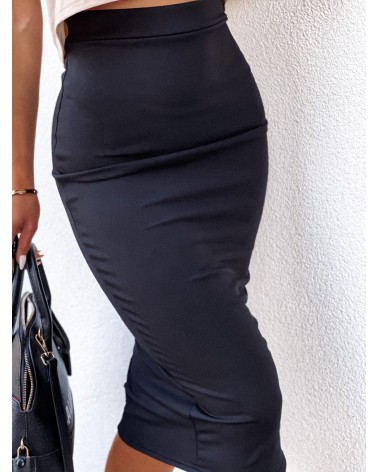 Spódnica midi czarna