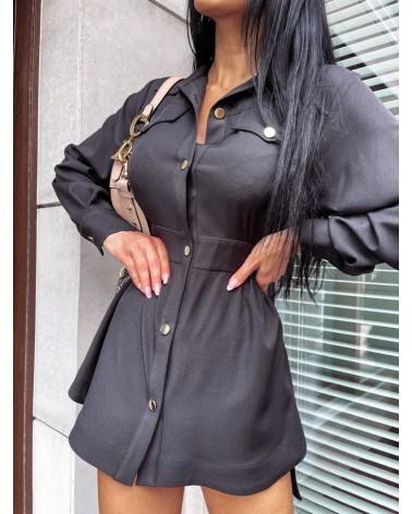 Koszula elegancka damska czarna
