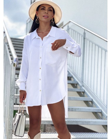 Asymetryczna koszula oversize
