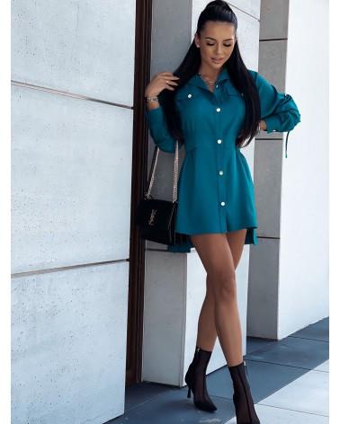 Koszula elegancka damska zielona