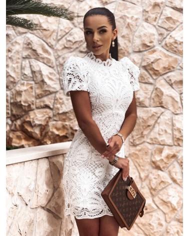 Elegancka sukienka z gipiury