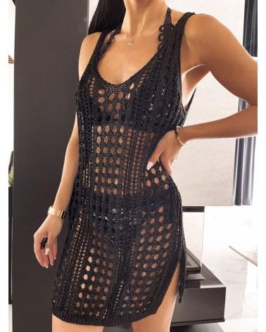 Sukienka na plaże czarna